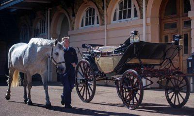Carruagem escolhida para o casamento real