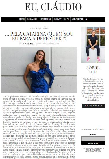 Publicação de Cláudio Ramos
