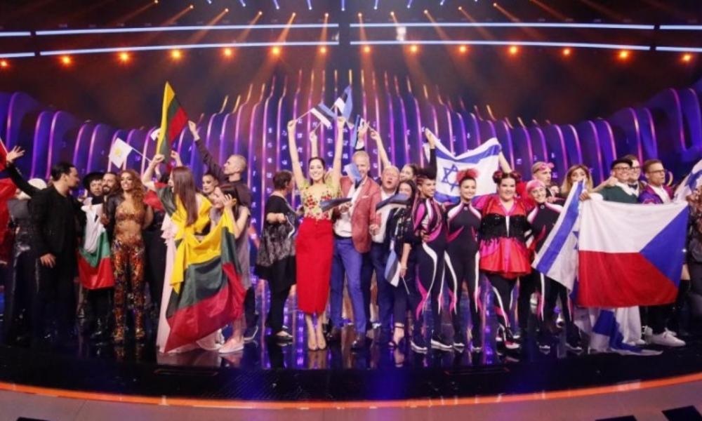 primeira semifinal da Eurovisão 2018