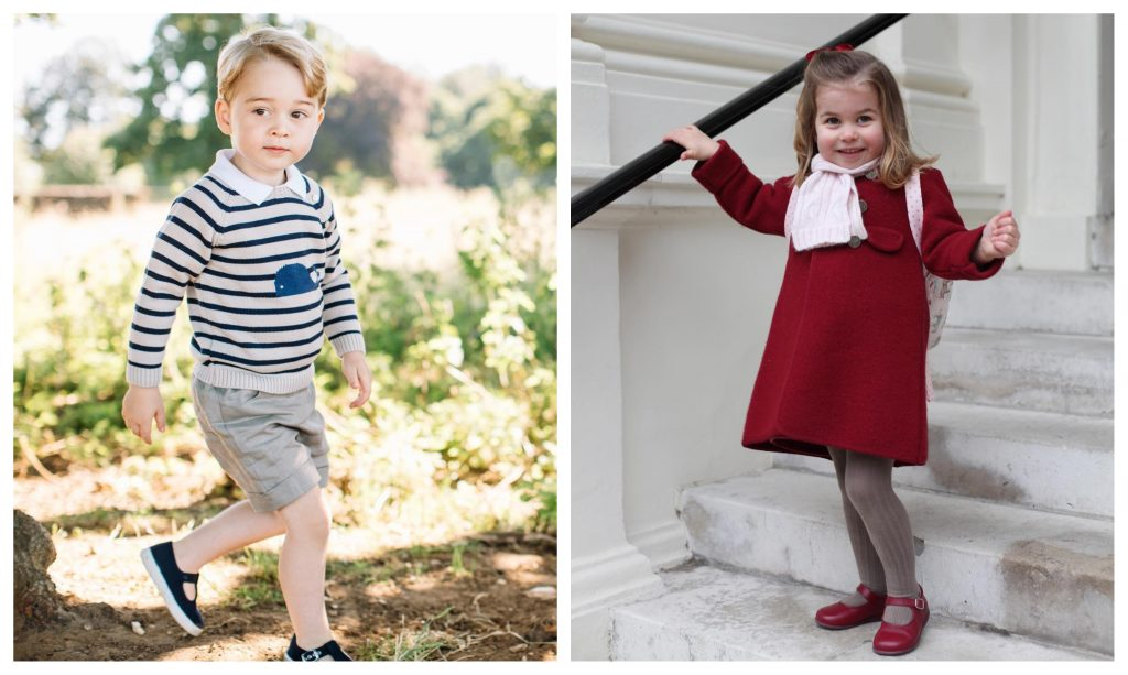 Filhos dos Duques de Cambridge