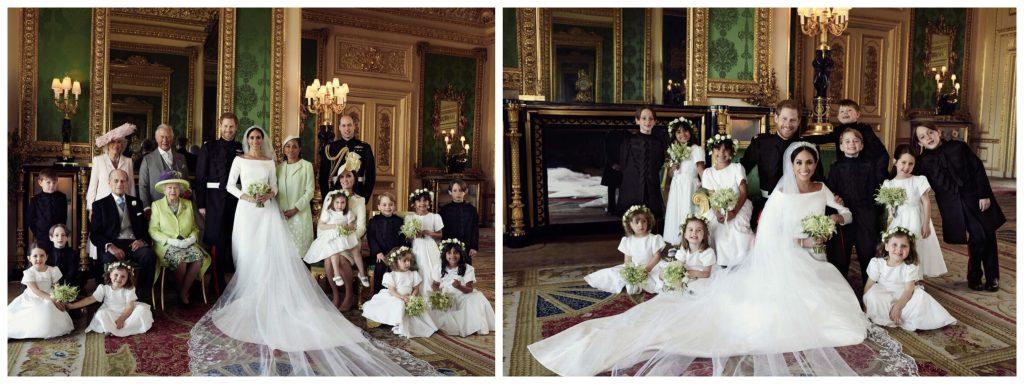 Fotografias oficiais do casamento real