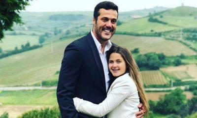 Júlio César com a filha Giulia