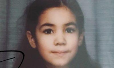Mia Rose em criança