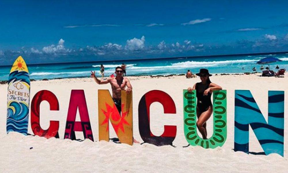 Herrera está de férias no México