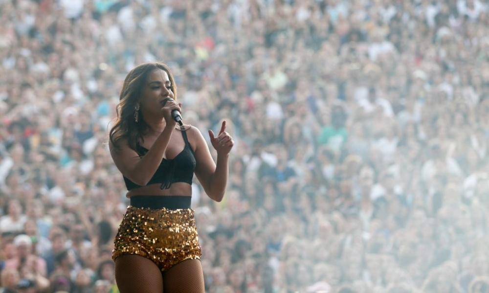Anitta traz o funk ao segundo dia do Rock in Rio