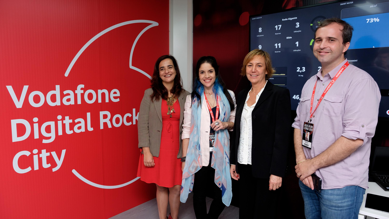 """Apresentação do Projeto """"Vodafone Digital Rock City"""" para o Rock in Rio Lisboa 2018"""