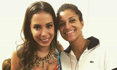 Blaya agradece gesto carinhoso de Anitta no seu concerto no Rock in Rio Lisboa