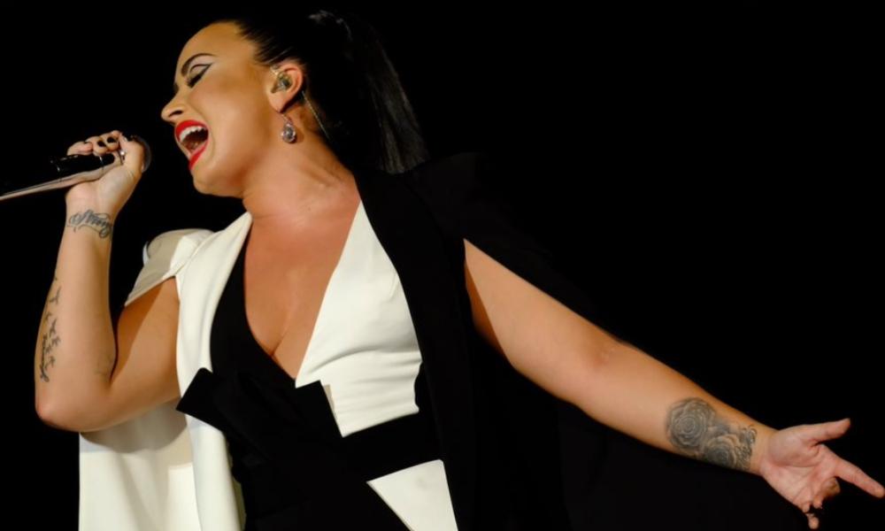 Concerto de Demi Lovato no Palco Mundo do Rock in Rio Lisboa