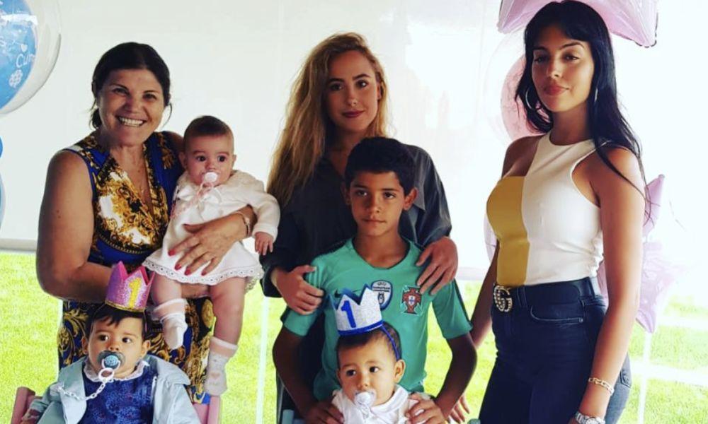 Dolores reuniu toda a família Aveiro para a festa dos gémeos