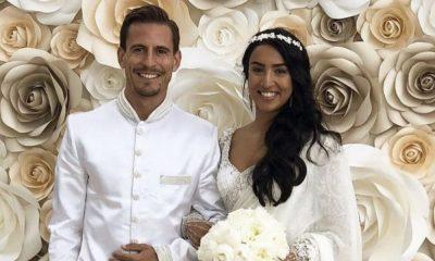 João Pereira com a companheira Natacha Esmail