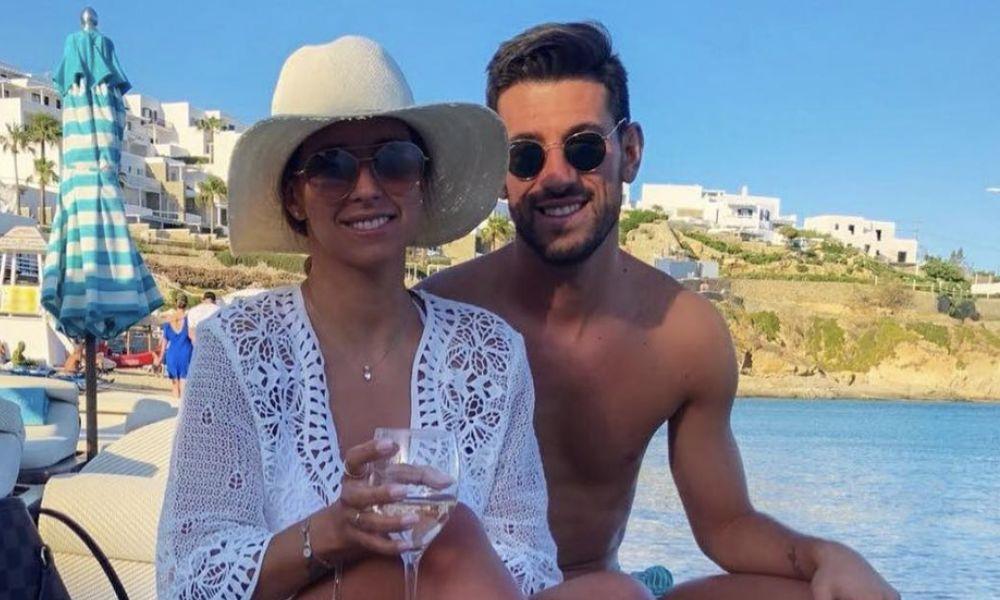 Pizzi e a mulher Maria Luís na Grécia