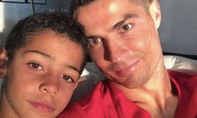 Cristianinho é o filho mais velho de Cristiano Ronaldo