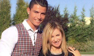 udite de Sousa ao lado de Cristiano Ronaldo