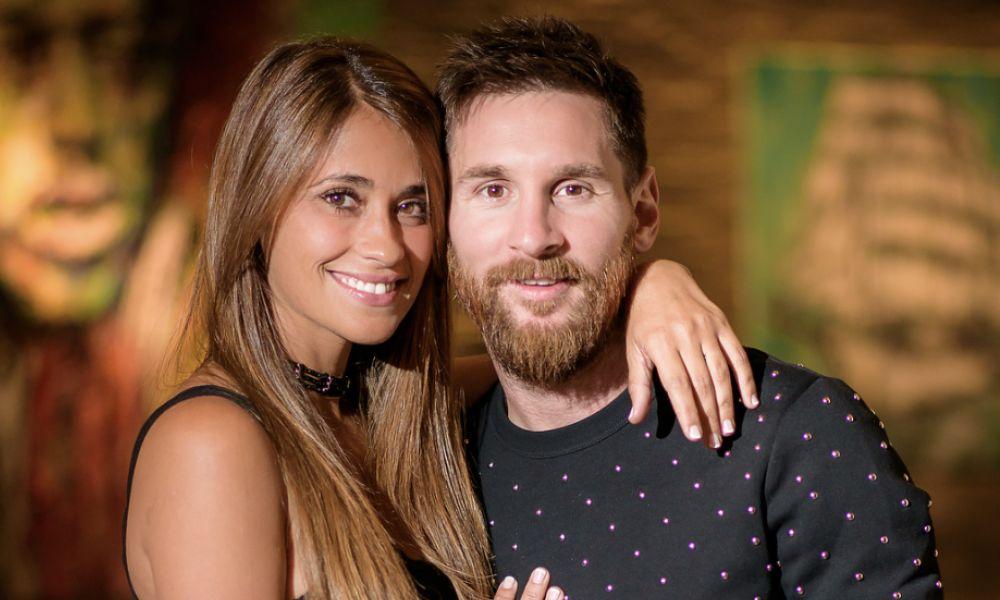 Antonella Roccuzzo e Messi conheceram-se durante a infância