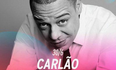 Carlão irá atuar dia 30 de junho no Rock in Rio Lisboa