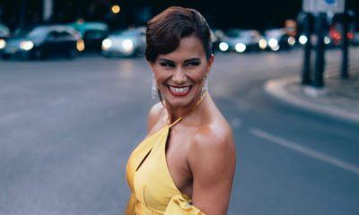 Cláudia Vieira deixa holandeses rendidos