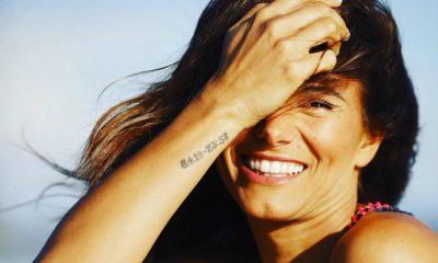 Cláudia Vieira celebra o seu 40º aniversário com sorriso no rosto