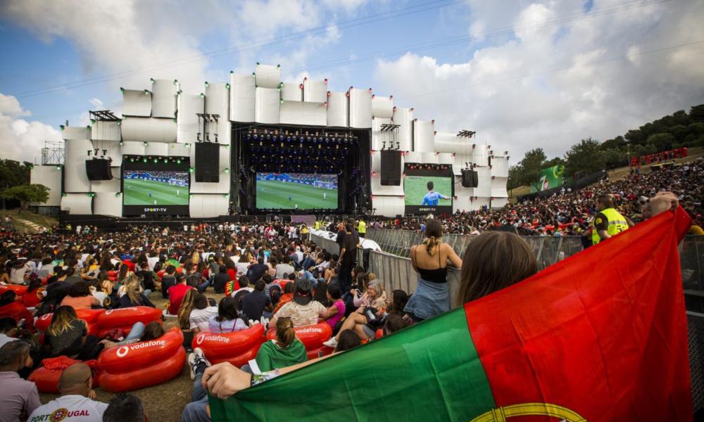 O Rock in Rio Lisboa apoia a seleção nacional portuguesa nos jogos do Mundial 2018