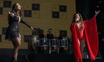 Ivete Sangalo e Daniela Mercury atuam juntas no Rock in Rio-Lisboa