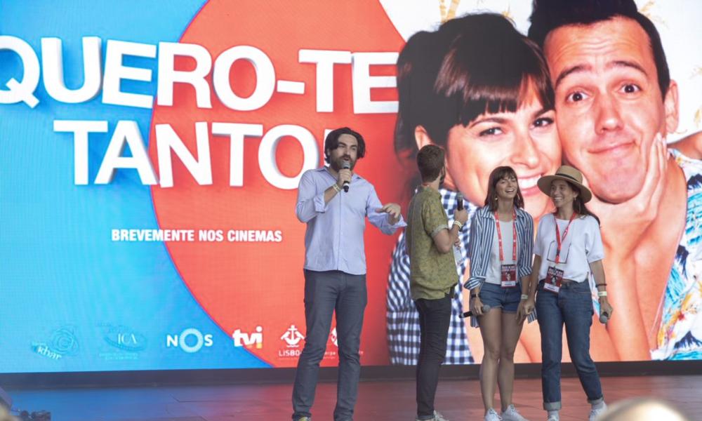 """""""Quero-Te Tanto"""" em apresentação no Digital Stage do Rock in Rio-Lisboa 2018"""