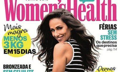 """Rita Pereira é a protagonista da capa de revista """"Women's Health"""" do verão 2018"""
