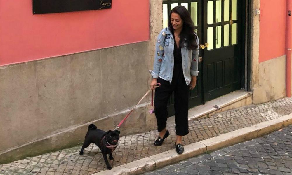 Novo visual de Sofia Ribeiro