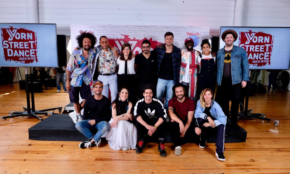 YORN STREET DANCE: atuação dos BOOTCAMP Rock in Rio Lisboa 2018