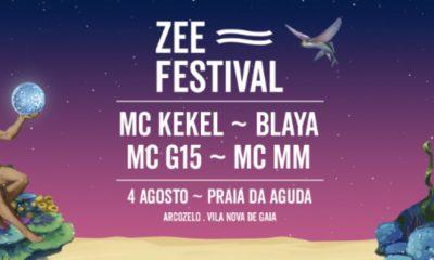 Cartaz do Festival ZEE FESTIVAL em Gaia