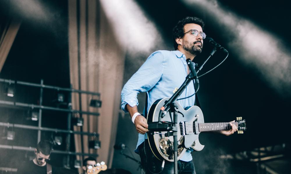 Miguel Araújo atuou no palco NOS do NOS Alive'18