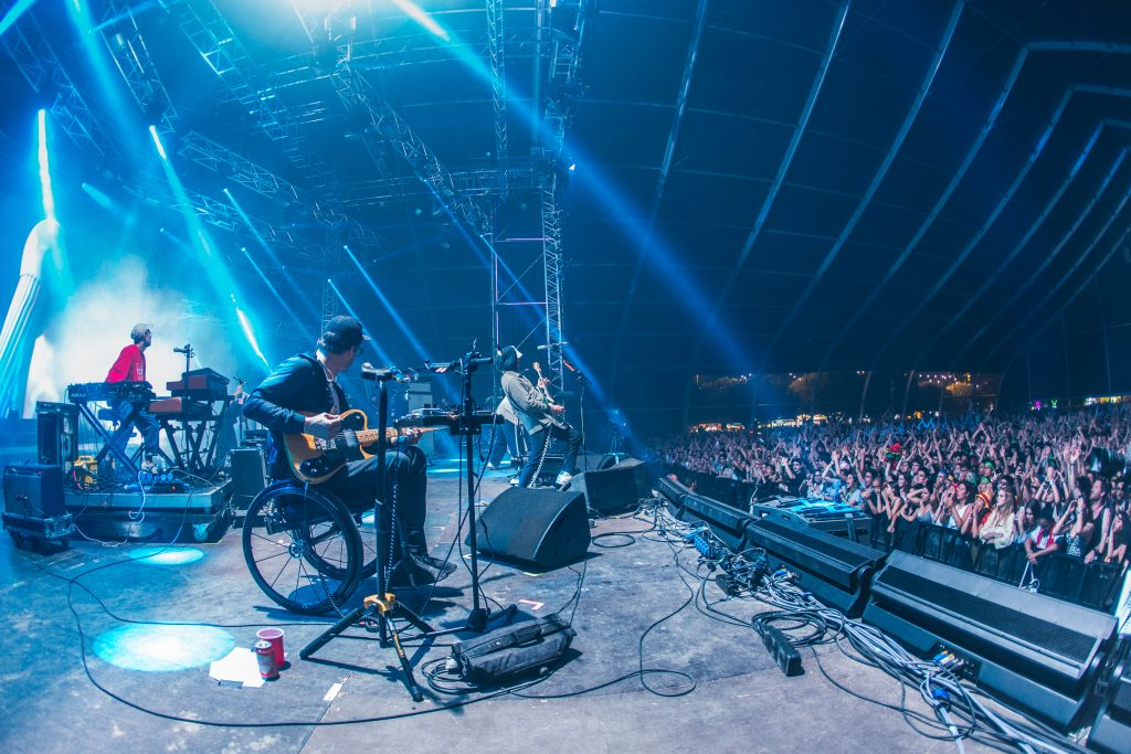 Portugal. The Man atuam no Palco Sagres do NOS Alive '18