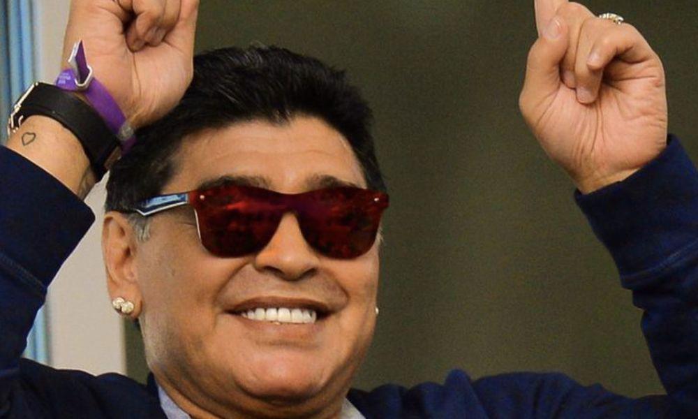 Maradona não se cansou de apoiar a sua seleção