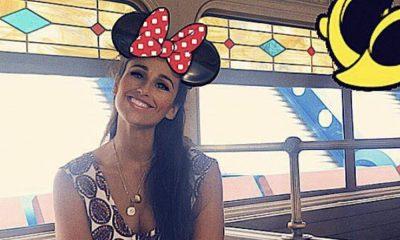 Rita Pereira na Disneyland Paris