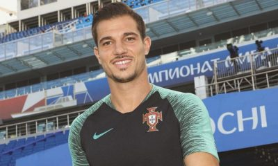 Cédric Soares representou Portugal no Mundial 2018