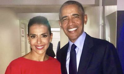 Catarina Furtado com Barack Obama