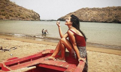 Rita Pereira na ilha de Santiago em Cabo Verde