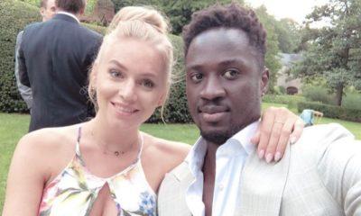 Éder Lopes com a esposa Senna