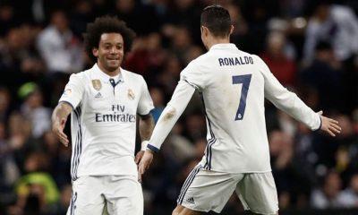 Marcelo e Cristiano Ronaldo tornaram-se amigos