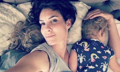 Daniela Ruah com a filha mais nova