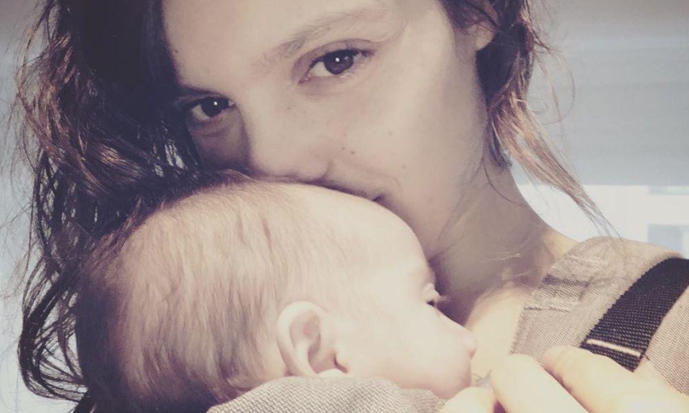 Andreia Rodrigues com a filha Alice