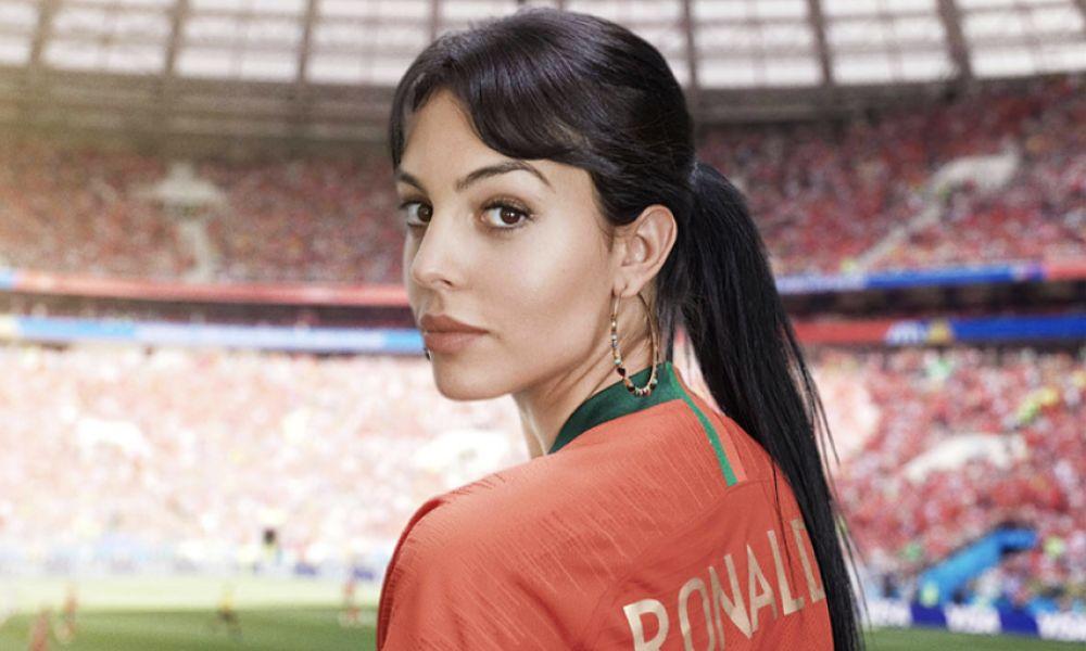 Georgina Rodríguez esteve no Mundial da Rússia