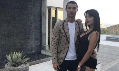 Cristiano Ronaldo com a namorada Gio
