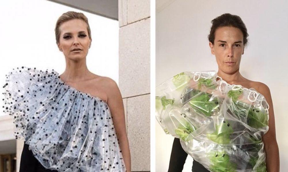 Fake Blogger parodiou o vestido de Cristina Ferreira