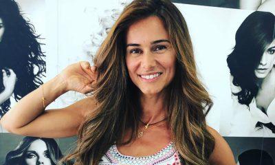 """Cláudia Vieira muda de visual para as gravações da novela """"Alma e Coração"""""""