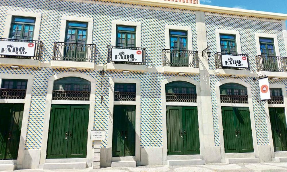 Palco EDP Fado Cafe na Rua EDP do Festival Nos Alive'18