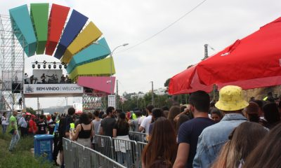 Abertura das portas no primeiro dia do Festival NOS Alive'18