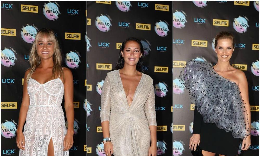 Três dos looks escolhidos para a Festa de Verão TVI
