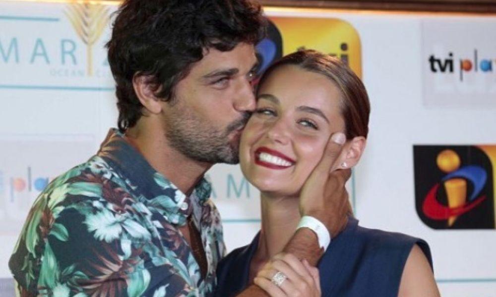 Kelly Bailey e Bruno Cabrerizo na festa da TVI