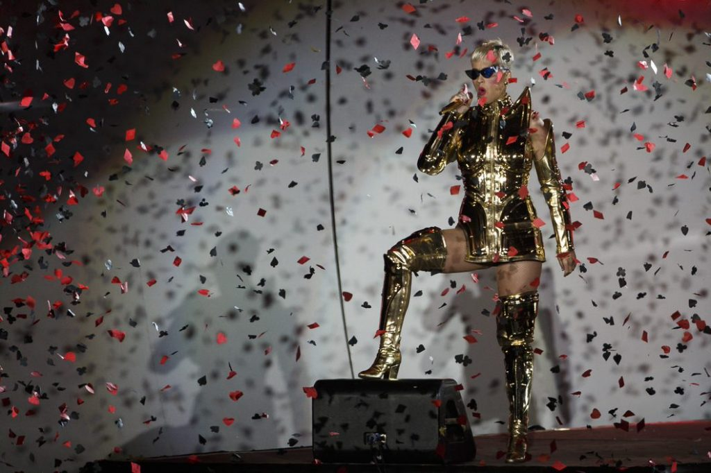 Katy Perry no Rock in Rio-Lisboa 2018