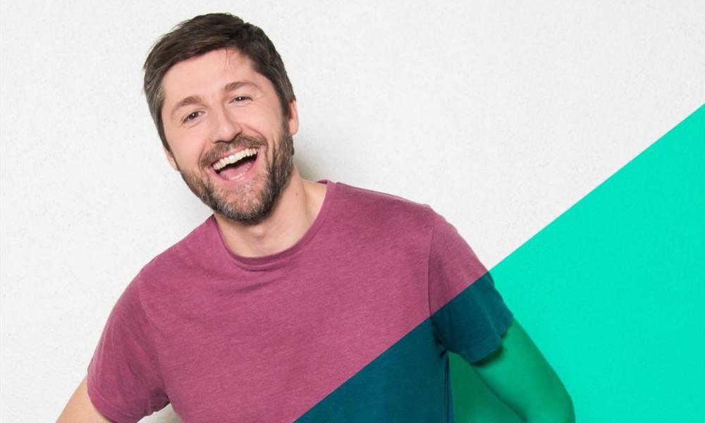 O comediante Miguel Lambertini esteve no palco Comédia do NOS Alive'18