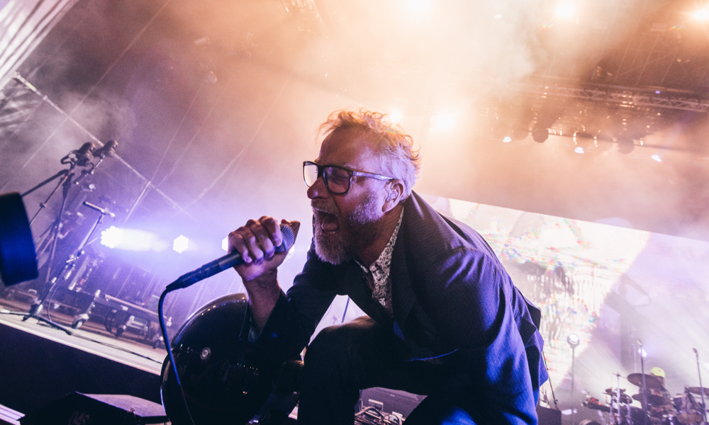 The National atuaram no palco NOS do Festival NOS Alive